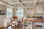 Фото 25 Кухонный уголок с ящиками для хранения: 70+ надежных и практичных моделей, которые комфортизируют интерьер кухни
