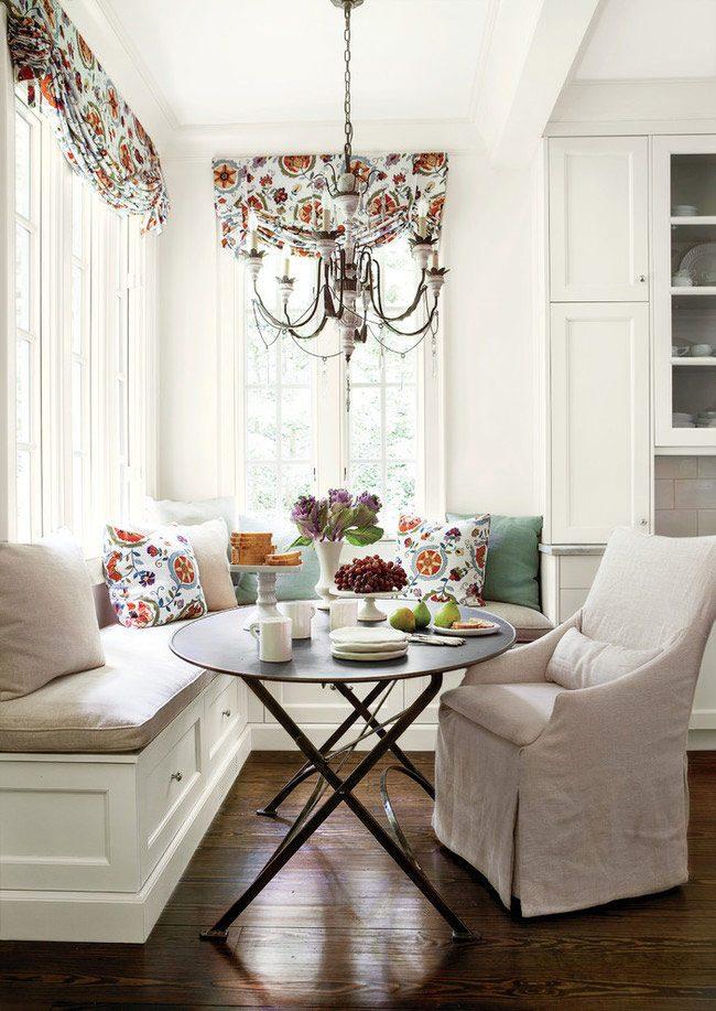 Нежные пастельные оттенки помогут расслабиться и погружат в атмосферу домашнего тепла