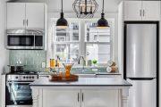 Фото 33 Маленькая кухня: тонкости оформления и 80+ максимально функциональных интерьеров