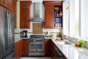 Фото 34 Маленькая кухня: тонкости оформления и 80+ максимально функциональных интерьеров
