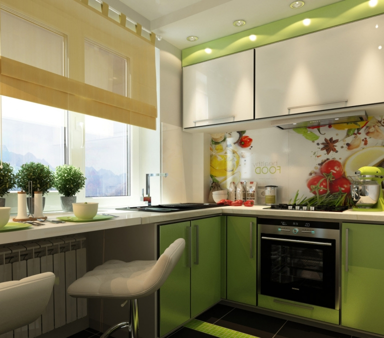 Дизайн маленьких кухонь 9 кв.м
