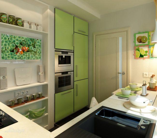 Светлые цвета и оттенки не будут зрительно нагружать комнату, а наоборот помогут зрительно увеличить комнату