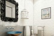 Фото 17 Дизайн туалетов маленьких размеров: 80 компактных и функциональных вариантов интерьера