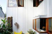 Фото 21 Дома из пеноблоков с мансардой: особенности возведения и 60+ наиболее функциональных и практичных вариантов