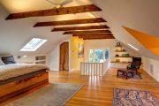 Фото 24 Дома из пеноблоков с мансардой: особенности возведения и 80 наиболее функциональных и практичных вариантов
