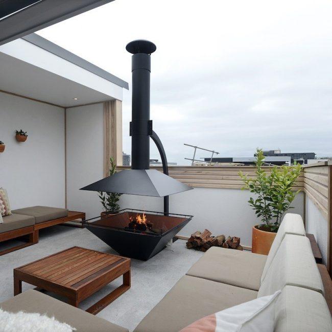 Проекты домов с мансардой из пеноблоков: камин на мансарде поможет расслабиться и создать романтическую атмосферу