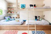Фото 33 Детская мебель для двоих детей: советы по выбору и 80+ удобных и эстетичных решений для детской комнаты