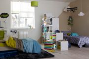 Фото 37 Детская мебель для двоих детей: советы по выбору и 80+ удобных и эстетичных решений для детской комнаты