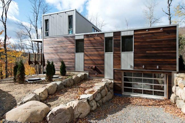 Стены, пол и крышу такого дома можно адаптировать к практически любым климатическим условиям