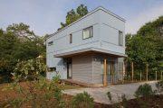 Фото 21 Модульные дома для круглогодичного проживания: технологии строительства и 70 лучших проектов