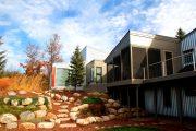 Фото 22 Модульные дома для круглогодичного проживания: технологии строительства и 70 лучших проектов