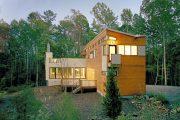 Фото 23 Модульные дома для круглогодичного проживания: технологии строительства и 70 лучших проектов