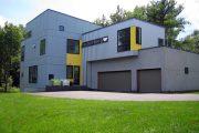 Фото 27 Модульные дома для круглогодичного проживания: технологии строительства и 70 лучших проектов