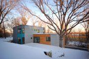 Фото 6 Модульные дома для круглогодичного проживания: технологии строительства и 70 лучших проектов