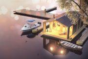Фото 3 Модульные дома для круглогодичного проживания: технологии строительства и 70 лучших проектов