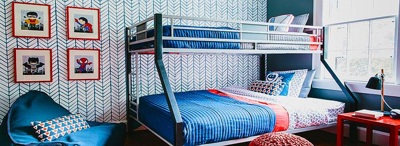 Обои в детскую комнату мальчика: рекомендации по выбору и 70+ ярких идей для вашего ребенка