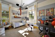 Фото 13 Обои в детскую комнату мальчика: 75+ ярких идей для интерьера и советы психолога по выбору цвета