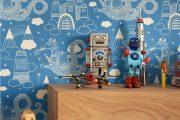 Фото 30 Обои в детскую комнату мальчика: 75+ ярких идей для интерьера и советы психолога по выбору цвета