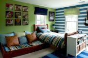 Фото 37 Обои в детскую комнату мальчика: 75+ ярких идей для интерьера и советы психолога по выбору цвета