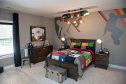 Фото 38 Обои в детскую комнату мальчика: 75+ ярких идей для интерьера и советы психолога по выбору цвета