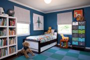 Фото 42 Обои в детскую комнату мальчика: 75+ ярких идей для интерьера и советы психолога по выбору цвета