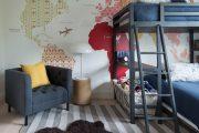 Фото 45 Обои в детскую комнату мальчика: 75+ ярких идей для интерьера и советы психолога по выбору цвета