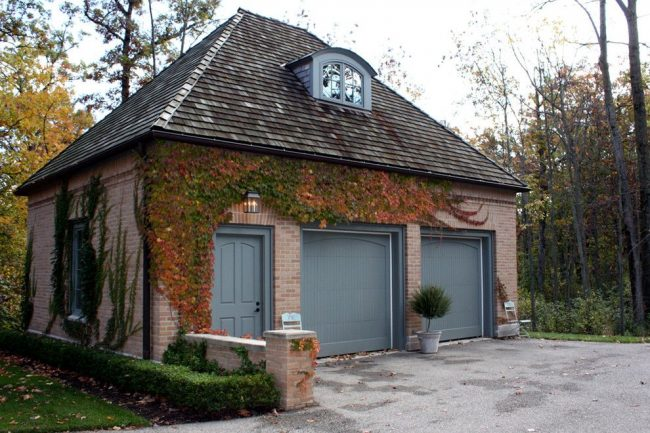 Тип постройки: гараж пристроен к дому