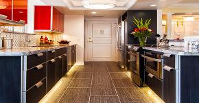 Светодиодная подсветка для кухонных шкафов: как выбрать, особенности монтажа и 65 универсальных идей фото