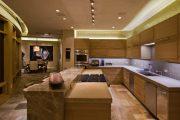 Фото 6 Светодиодная подсветка для кухонных шкафов: как выбрать, особенности монтажа и 65 универсальных идей