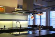 Фото 9 Светодиодная подсветка для кухонных шкафов: как выбрать, особенности монтажа и 65 универсальных идей