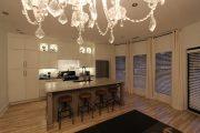 Фото 20 Светодиодная подсветка для кухонных шкафов: как выбрать, особенности монтажа и 65 универсальных идей