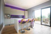 Фото 21 Светодиодная подсветка для кухонных шкафов: как выбрать, особенности монтажа и 65 универсальных идей