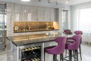 Фото 24 Светодиодная подсветка для кухонных шкафов: как выбрать, особенности монтажа и 65 универсальных идей