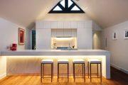 Фото 29 Светодиодная подсветка для кухонных шкафов: как выбрать, особенности монтажа и 65 универсальных идей