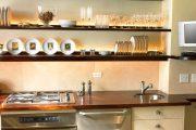 Фото 31 Светодиодная подсветка для кухонных шкафов: как выбрать, особенности монтажа и 65 универсальных идей