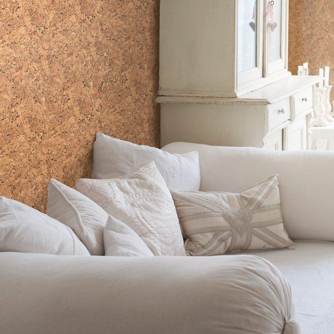 Необычная альтернатива деревянным стенам для стиля прованс