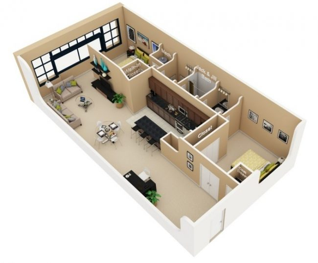 Jack and jill bathrooms floor plans