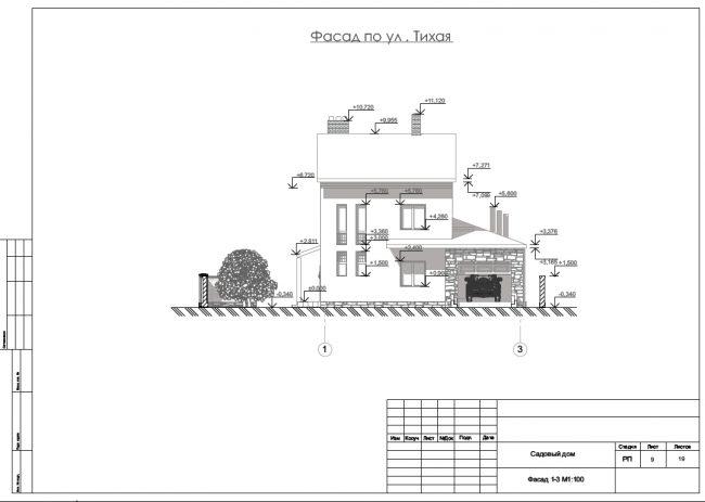 Бюджетный выбор строительных материалов продолжают: простая двускатная кровля по деревянным стропилам и фундаментные блоки ФБС