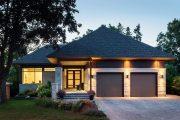 Фото 4 Проекты домов с гаражом под одной крышей: 70+ готовых надежных решений для загородной жизни
