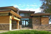 Фото 10 Проекты домов с гаражом под одной крышей: 70+ готовых надежных решений для загородной жизни