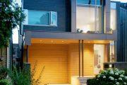 Фото 12 Проекты домов с гаражом под одной крышей: 70+ готовых надежных решений для загородной жизни