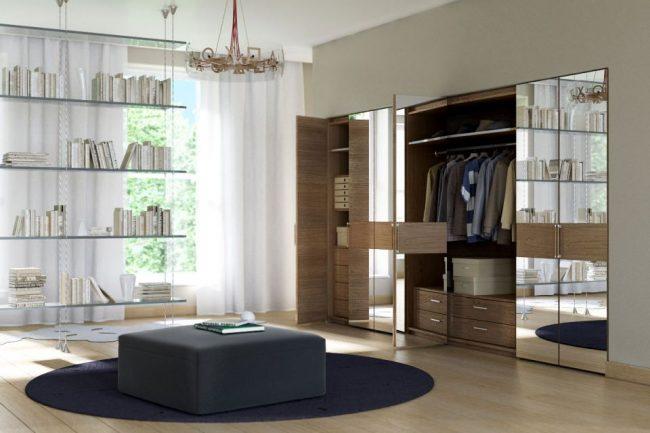 Программы для дизайна интерьера: реалистичная визуализация спальни с гардеробной, профессионально выполненная в Autodesk 3ds Max. Такие изображения требуют в десятки раз больше времени на рендеринг