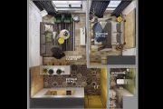 Фото 12 Разработка дизайн-проекта комнаты: этапы, тонкости воплощения и 70 трендовых дизайнерских вариантов