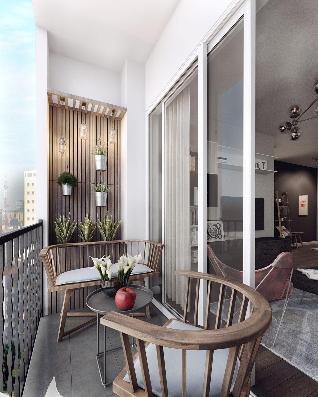 Дизайн балкона в квартире - каким он должен быть? 100 фото и.