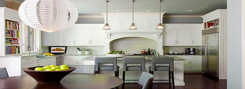 Серая кухня в интерьере: 75+ избранных классических и современных дизайнерских решений