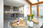 Фото 1 Серая кухня в интерьере: 75+ избранных классических и современных дизайнерских решений