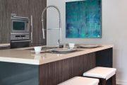 Фото 2 Серая кухня в интерьере: 75+ избранных классических и современных дизайнерских решений