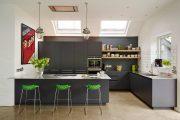 Фото 4 Серая кухня в интерьере: 75+ избранных классических и современных дизайнерских решений
