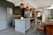 Фото 7 Серый цвет — тренд сезона: 100+ элегантных и современных вариантов серой кухни в интерьере