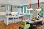 Фото 11 Серый цвет — тренд сезона: 100+ элегантных и современных вариантов серой кухни в интерьере